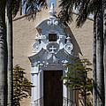Entrance To Congregational Church by Ed Gleichman