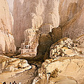 Entrance To Petra by David Roberts