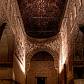 Entrance To The Ambassadors Hall In The Alhambra by Weston Westmoreland