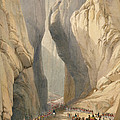 Entrance To The Bolan Pass From Dadur by James Atkinson