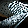 Entrance To The Canary Wharf Tube by Amos Chapple