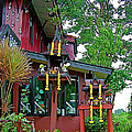 Entry Of A Thai Teak Home In Bangkok-thailand by Ruth Hager