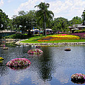 Epcot Center Flower Festival 1 by Judy Wanamaker