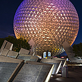Epcot Spaceship Earth by Adam Romanowicz