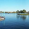 Epcot World Showcase Lagoon Panorama 05 Walt Disney World by Thomas Woolworth