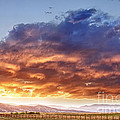 Epic Colorado Country Sunset Landscape by James BO Insogna