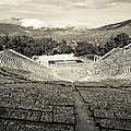 Epidavros Theatre by David Waldo