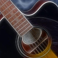 Epiphone Acoustic-9481-fractal by Gary Gingrich Galleries