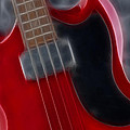 Epiphone Sg Bass-9193-fractal by Gary Gingrich Galleries