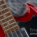 Epiphone Sg Bass-9205-fractal by Gary Gingrich Galleries