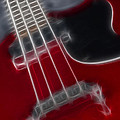 Epiphone Sg Bass-9241-fractal by Gary Gingrich Galleries