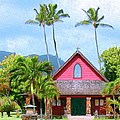 Episcopal Church In Kapaa by Dominic Piperata