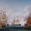 Episode Of The Battle Of Navarino by Ambroise-Louis Garneray