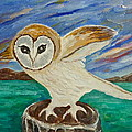 Equinox Owl by Victoria Lakes