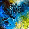 Equus Blue Ghost by Marcia Baldwin