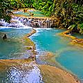 Erawan Waterfalls Thailand by Venetia Featherstone-Witty