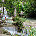 Erawan National Park In Thailand by Artur Bogacki