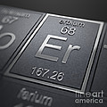 Erbium Chemical Element by Science Picture Co