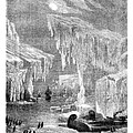 Erebus And Terror In The Ice 1866 by Hakon Soreide