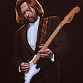 Eric Clapton Painting by Paul Meijering