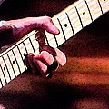 Eric Clapton Playing Guitar by George Pedro