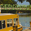 Erie Canal At Pittsford Ny by William Norton