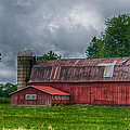 Erie County Barn 03452 by Guy Whiteley