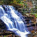 Erie Falls Panorama by Rich Walter