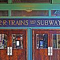 Erie Lackawanna Terminal Doors Hoboken by Regina Geoghan