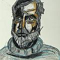 Ernest Hemingway 1 by Drew Eurek