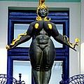Ernst Fuchs Museum Nude Statue by Mariola Bitner