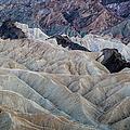 Erosional Landscape - Zabriskie Point by George Buxbaum