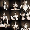 Erotic Beauty Collage 14 by Jochen Schoenfeld