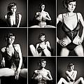 Erotic Beauty Collage 15 by Jochen Schoenfeld