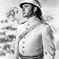 Errol Flynn In The Charge Of The Light Brigade by Silver Screen