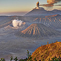 eruption at Gunung Bromo by Juergen Ritterbach