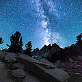 Eruption Of The Milky Way by Larry Pollock