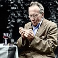 Erwin Schrodinger by Photograph By Wolfgang Pfaundler, Copyright Status Unknown. Coloured By Science Photo Library, Courtesy Of Emilio Segre Visual Archives, American Institute Of Physics