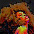 Erykah Badu by Fli Art