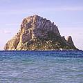 Es Vedra Rock Island Of Ibiza by Rosemary Calvert