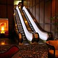 Escalator In The Brown Palace by John Malone