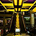 Escalator Lights by Angus Hooper Iii