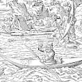 Eskimos Hunting, 1580 by Granger