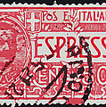 Espresso Italiano Vintage Postage Stamp by Andy Prendy