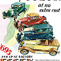 Essex Challenger Vintage Poster by World Art Prints And Designs