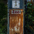 Esso Gas Pump by Bill Cannon
