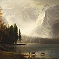 Estes Park Colorado Whytes Lake by Albert Bierstadt