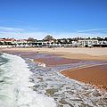 Estoril Beach In Portugal by Artur Bogacki