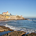 Estoril Coastline In Portugal by Artur Bogacki
