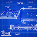 Etch A Sketch Patent 1959 - Blue by Stephen Younts